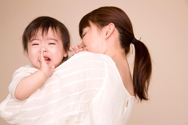 乳幼児によく見られる症状